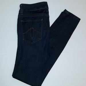 Level 99 Janice Ultra Skinny Blue Jeans Size 26